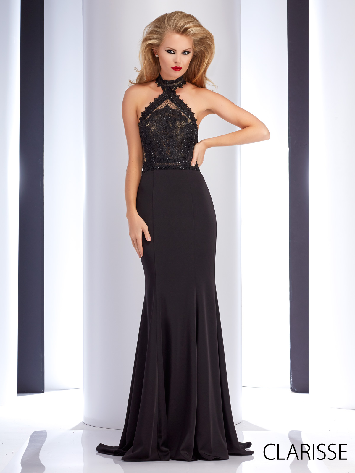Clarisse couture prom dress style long simple and