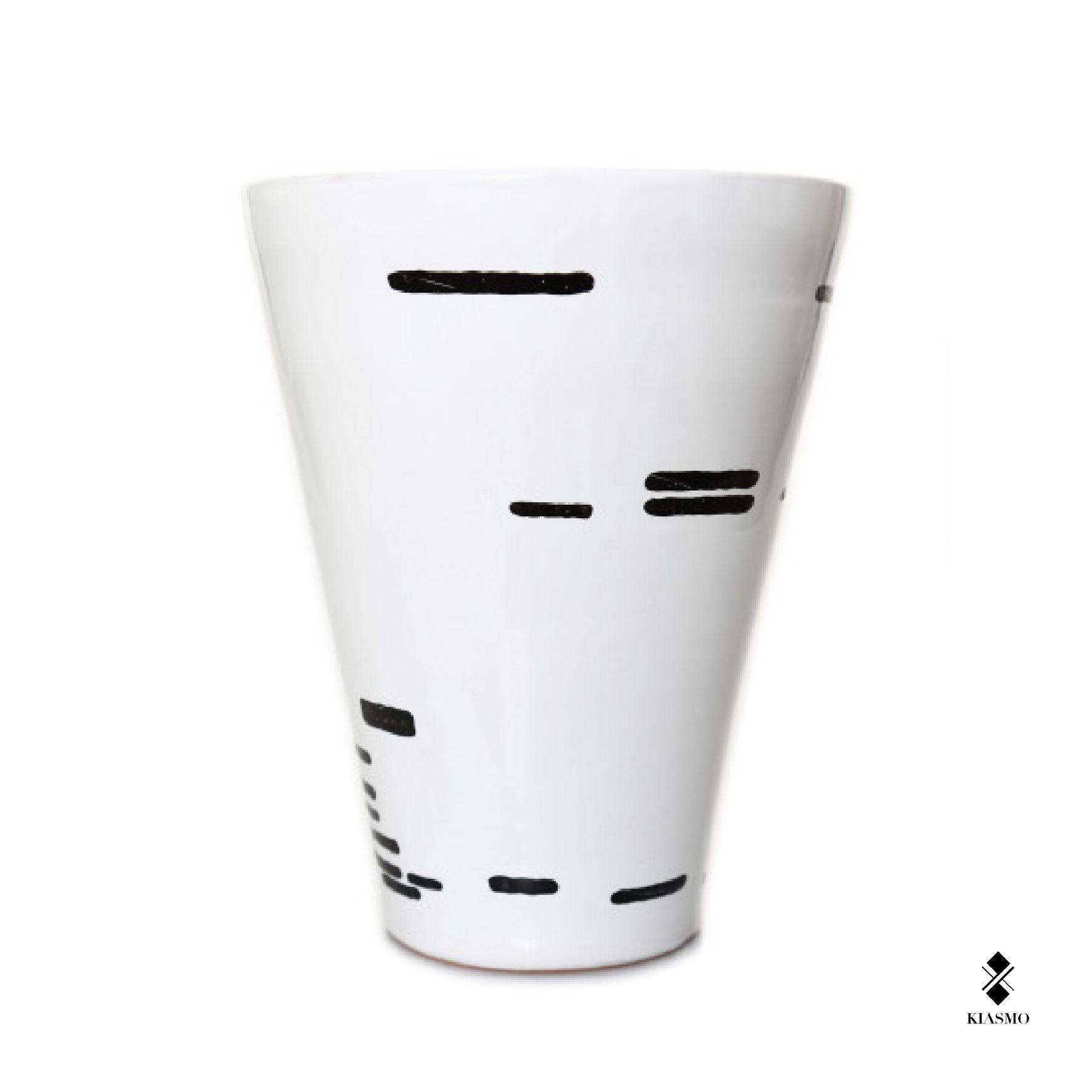 Vases   Series Horizontal   Horizontal II   2013   Designer Vincenzo D'Alba   Ceramic 20x26 cm   Handmade ceramic vase. Single work signed by the author. Kiasmo.   Made by Collection   Shop on line www.kiasmo.it #kiasmo #design #art #architecture #vincenzodalba #domus #domusweb #lovesdomus #archilovers #dekoration #vases #homedesign #ceramic #handmade #shops #artist #homedecor #style #italy #disegno #ispiration #elegant #original #artist #brand #luxury #artoftheday #vsco #collection