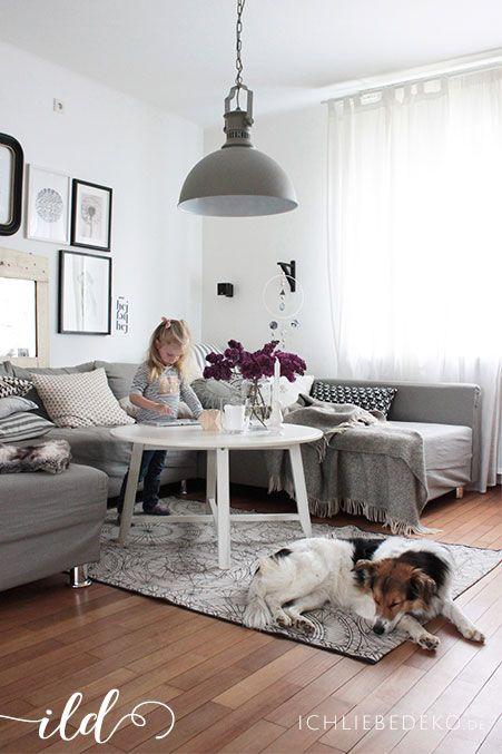 Life with kids - ein Tag Zuhause im Wohnzimmer im gemütlichen - wohnzimmer couch gemutlich