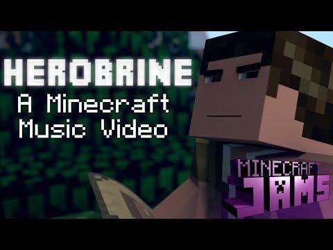 Herobrine An Original Minecraft Song Music Video And Animation - Minecraft schone holzhauser