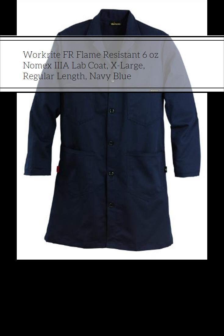8502390b0947 Workrite FR Flame Resistant 6 oz Nomex IIIA Lab Coat