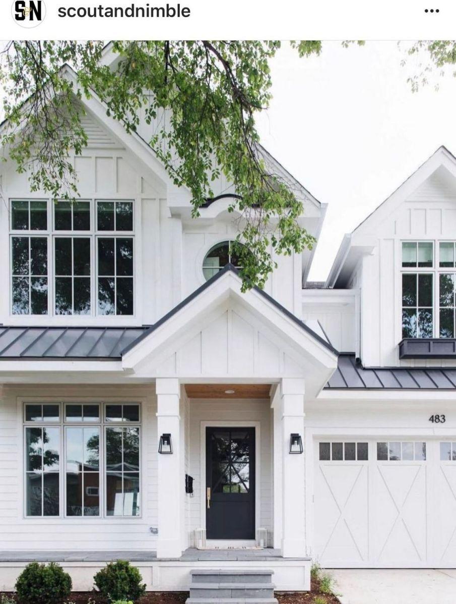 868 336 Exterior Home Design Ideas Remodel Pictures: 33 Secrets To Modern Farmhouse Exterior House Plans Dream Homes 21