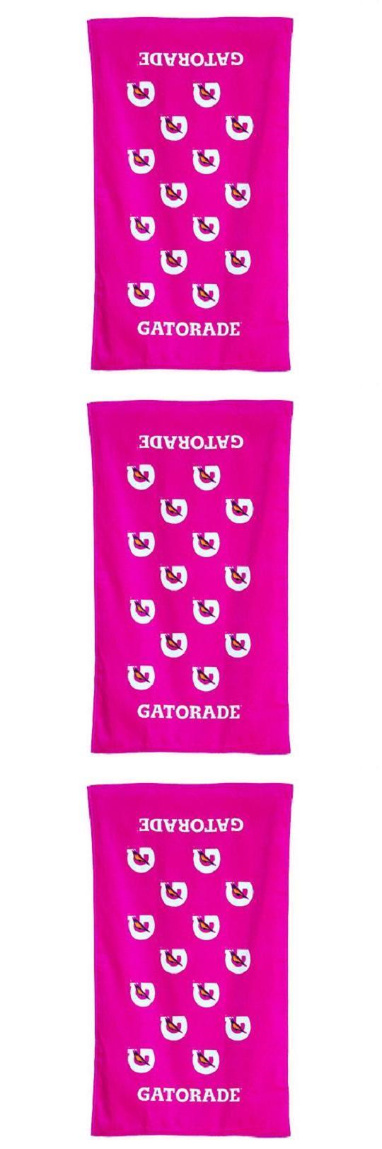 Pink Gatorade Towels April 2017