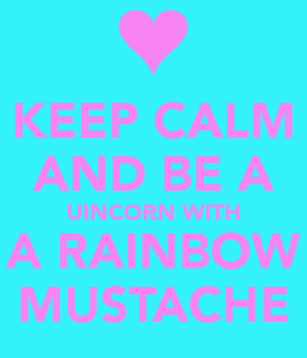 Cute Unicorns With Mustaches | www.pixshark.com - Images ...