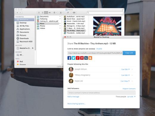 MediaFire Launches DropboxLike App With 50GB Free Storage