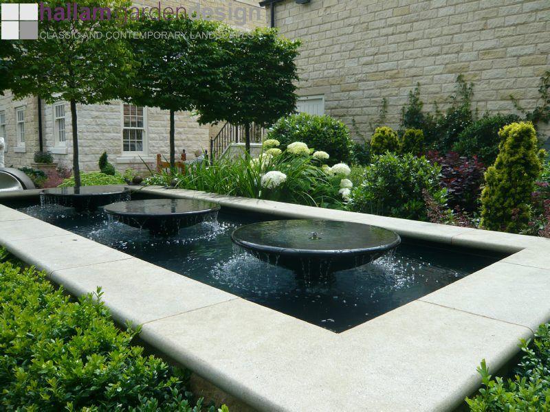 wide shallow garden design Google Search planten Pinterest