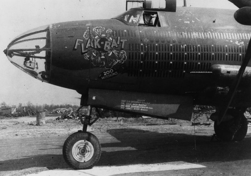 photo american bomber b 26 marauder with its own name. Black Bedroom Furniture Sets. Home Design Ideas