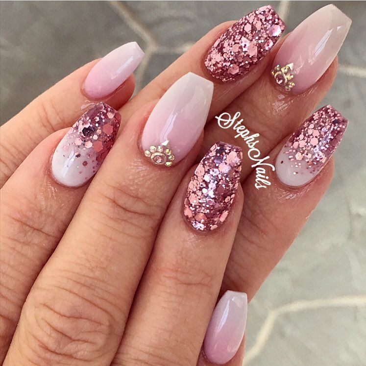 Pin by Chastity Nicholson on Nails | Pinterest | Pink white, Easy ...