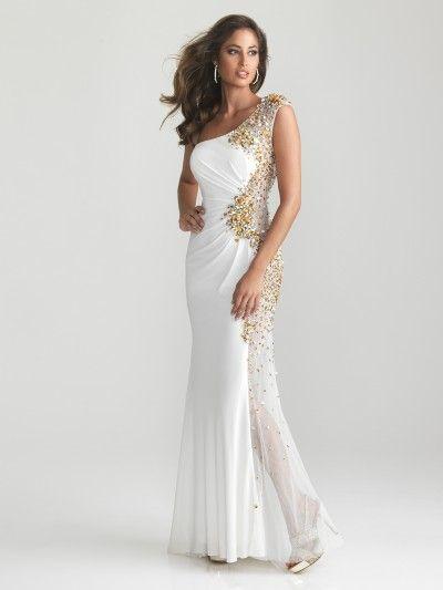 White Prom Dresses 2012