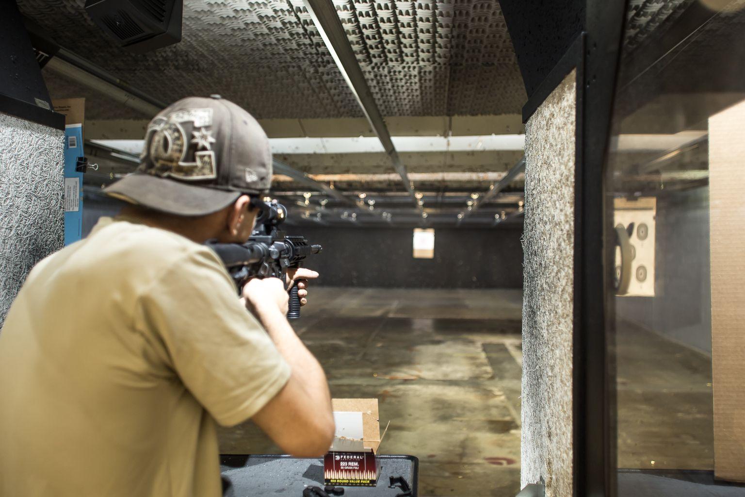 StateoftheArt Indoor Shooting Range in Denver for