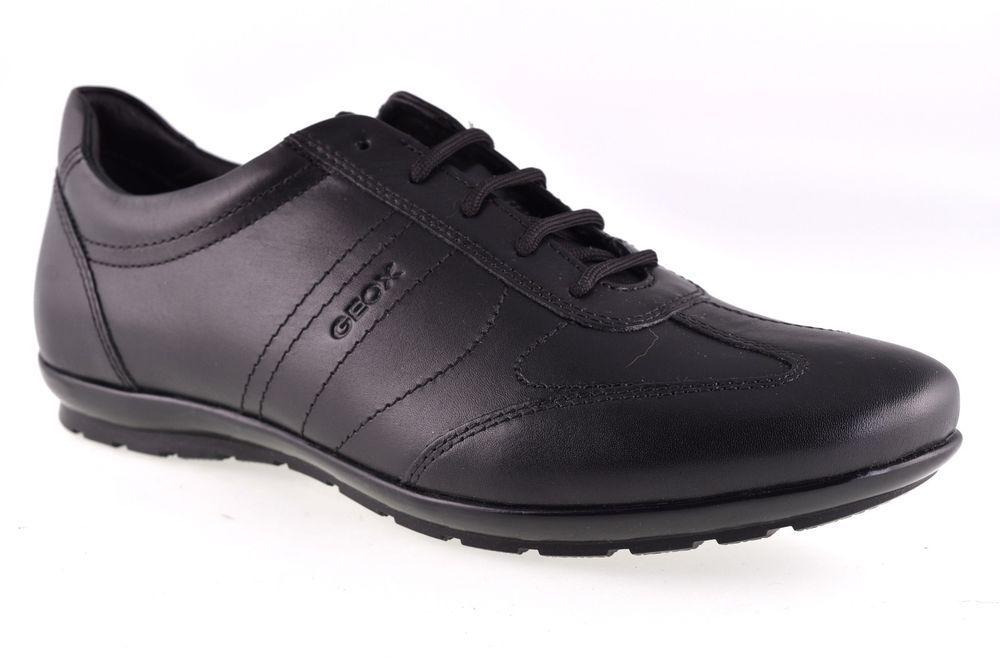 GEOX U74A5B 00043 C9999 SYMBOL NERO Scarpe Sneaker Bassa Uomo Stringata  Elegante 6247f5e842b