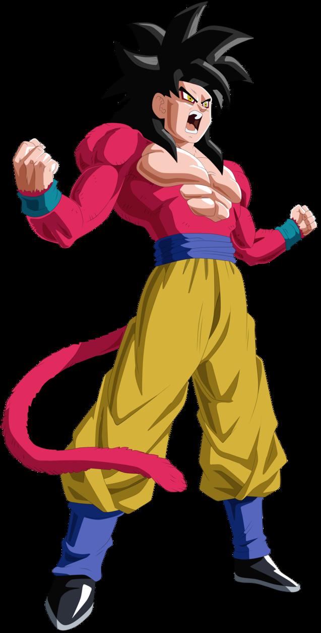 Goku Ssj4 By Andrewdragonball Deviantart Com On Deviantart Dragon Ball Super Manga Dragon Ball Gt Dragon Ball Super