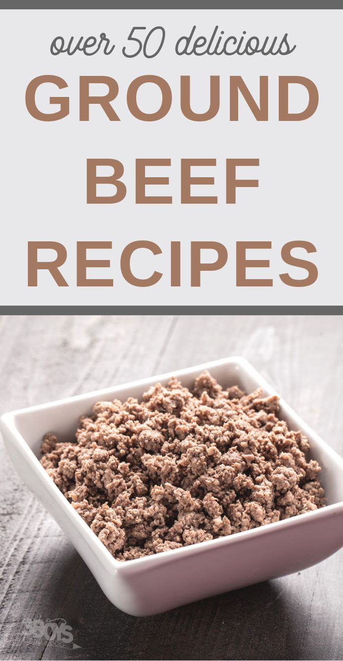 Over 50 Hamburger Meat Recipes images