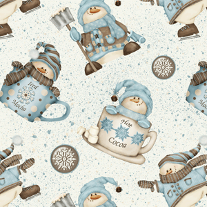 I Love Snow by Shelly Comiskey for Henry Glass Fabrics. Love this line of Fabric.