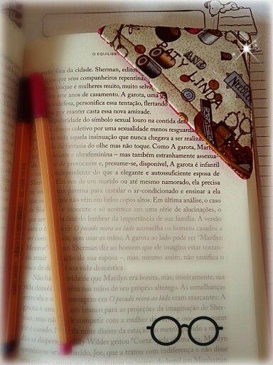 Marcador de pagina personalizado. Bookmark