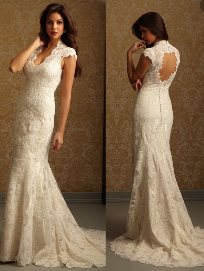 Allure Bridals 2455, $500 Size: 6 | Used Wedding Dresses | Allure ...