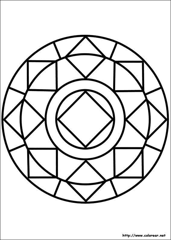 Afbeeldingsresultaat voor como hacer mandalas faciles Baño