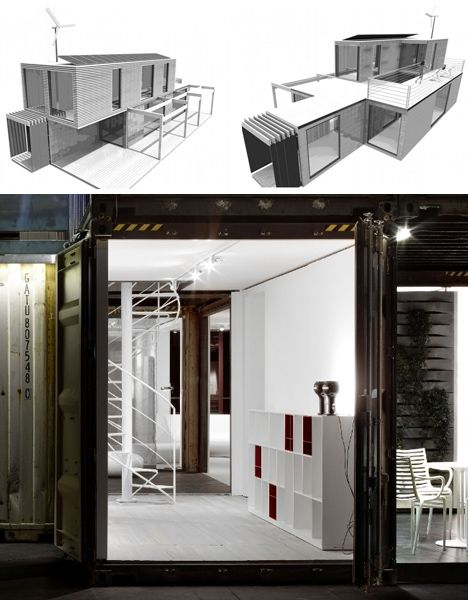 40 foot container homes shipping containers modern stacked
