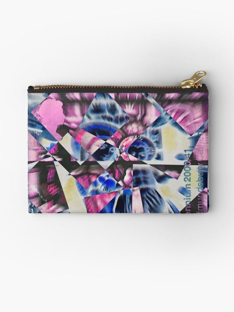 Jesus Mary zippered wallet