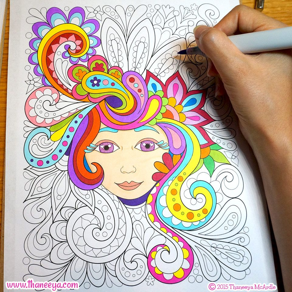Free spirit coloring book by thaneeya mcardle coloring books by - Free Spirit Coloring Book By Thaneeya Mcardle