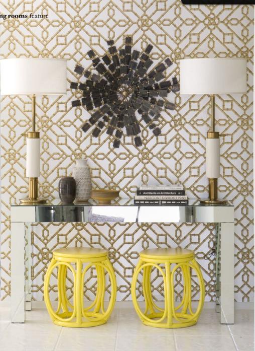 love the yellow stools