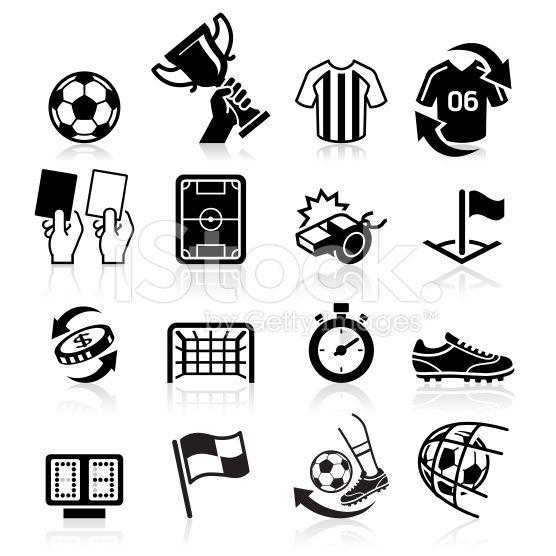 Soccer icons set  | Football | Soccer, Icon set, Instagram highlight
