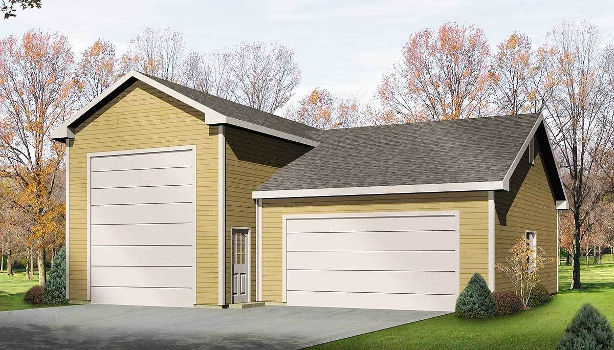 Plan 2263SL RV Garage Plan Rv garage, Rv garage plans