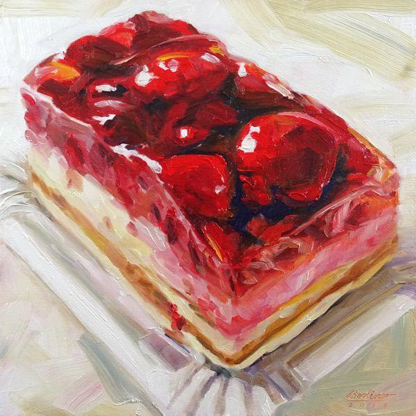 149 Raspberry cake No.11 by Anja Berliner