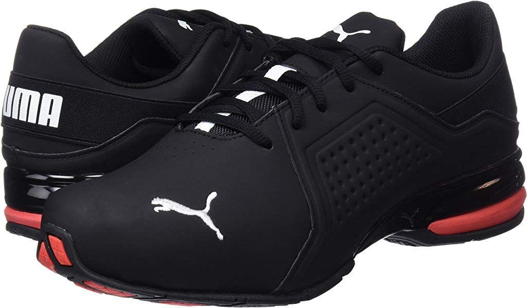 puma black runners