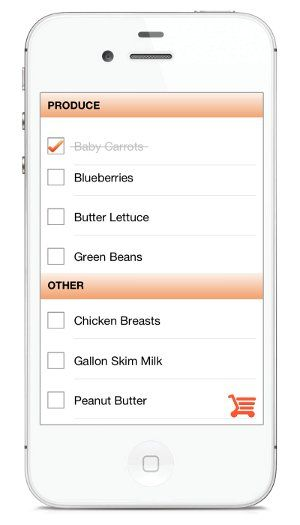 Shopping Mode is the best way to use your list at the