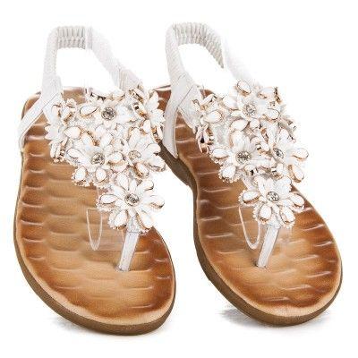 2b124ef601ff Nízke dámske sandále 6261W