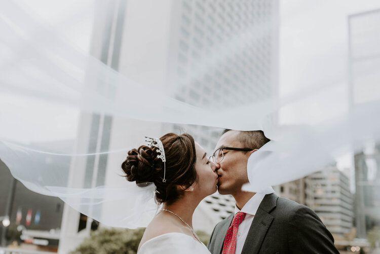 Luxurious Toronto Wedding at Shangri La Hotel#hotel #luxurious #shangri #toronto #wedding