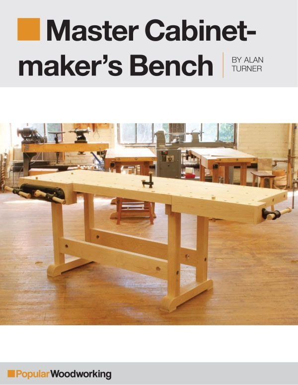 Groovy Master Cabinetmakers Bench Project Download Work Bench In Gmtry Best Dining Table And Chair Ideas Images Gmtryco