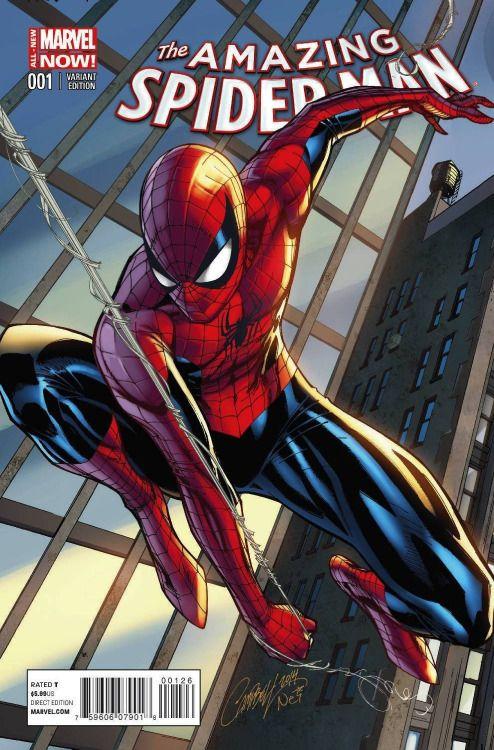 SUPERIOR SPIDER-MAN #31 NM SCOTT CAMPBELL CONNECTING VARIANT 2014