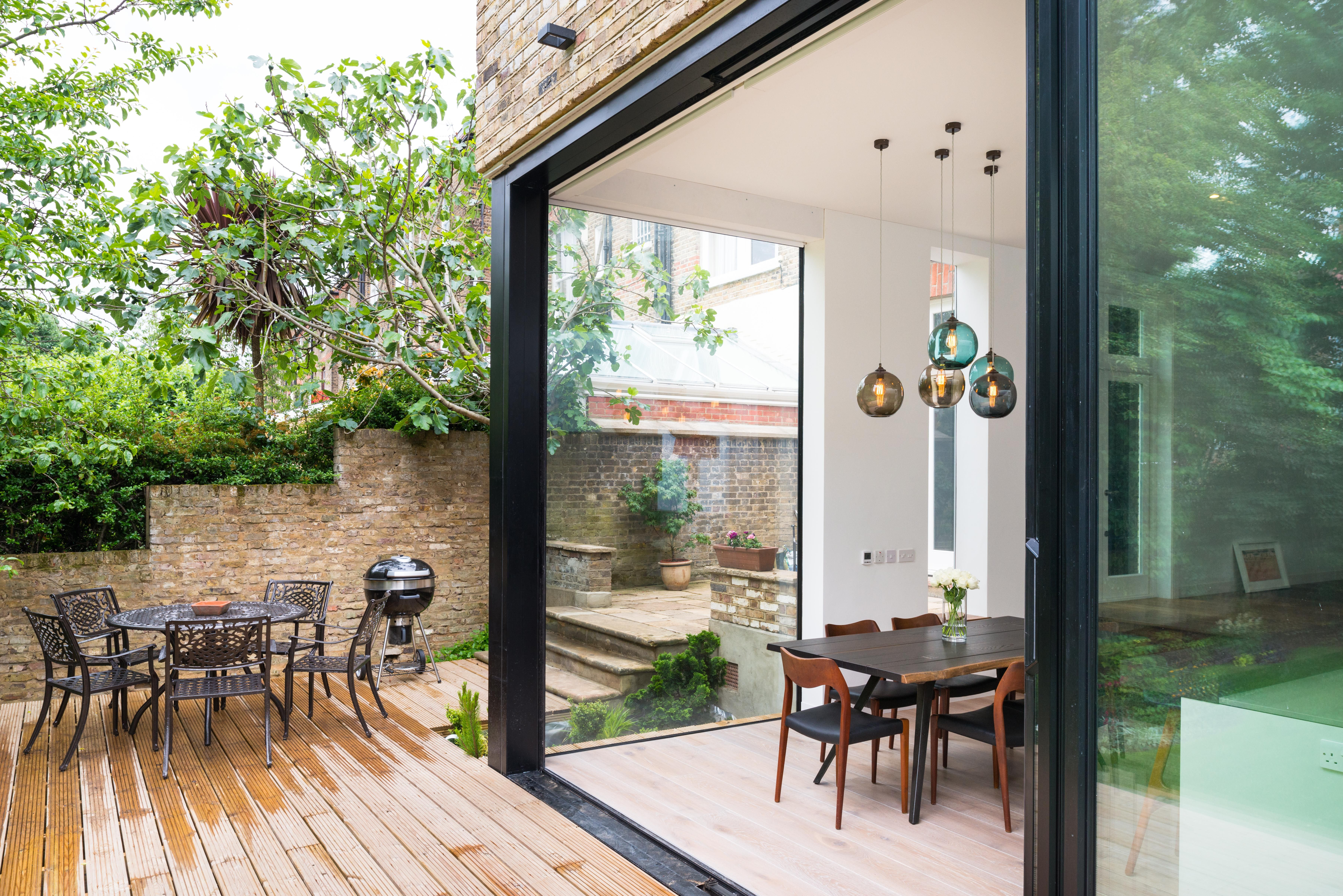 Southern Windows gorgeous house extension with Slim s…