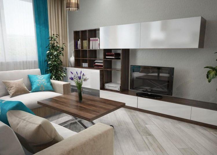 Palette de couleur salon moderne- froide, chaude ou neutre? Salons
