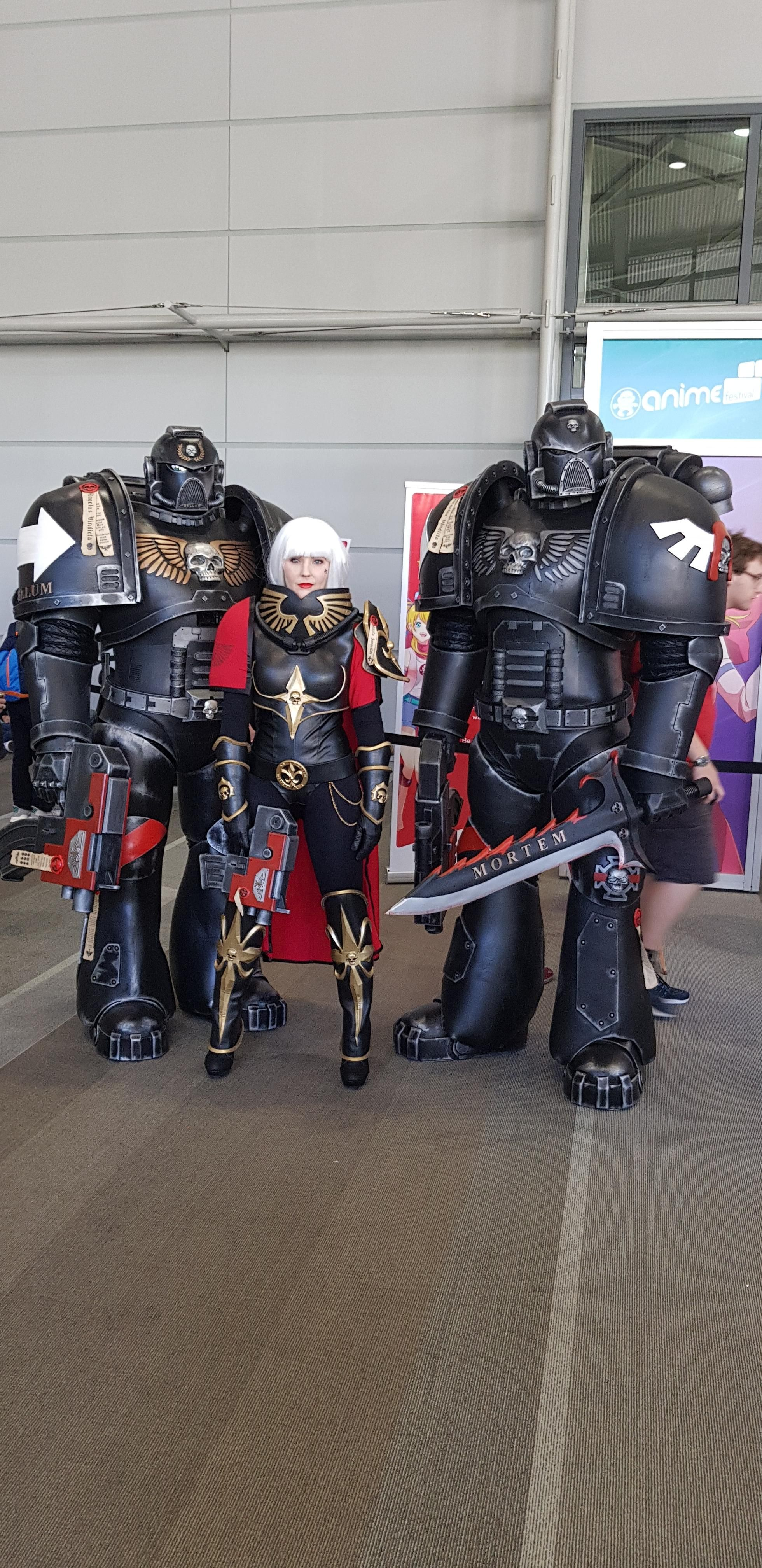 Local anime expo had these awesome guys cosplaying so I