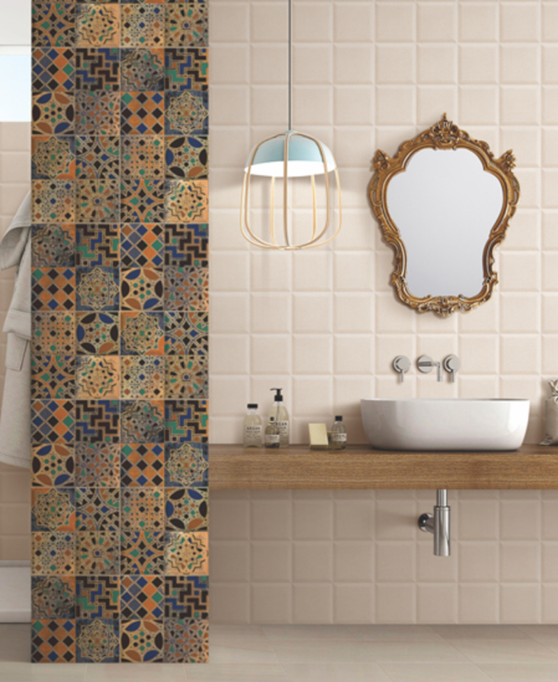 Piazza Bosco Decorative Ceramic Wall Tile Square Metre Price is ...