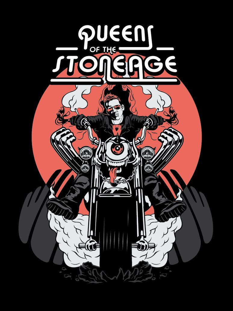 Queens Of The Stone Age The Rocker By Schorer Music Artwork