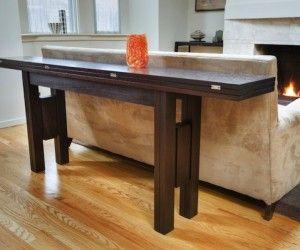 Adorable Narrow Buffet Table Expandable Foto Idea