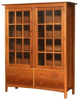 Modern Shaker China Cabinet Bookcase Furniture Ideas In