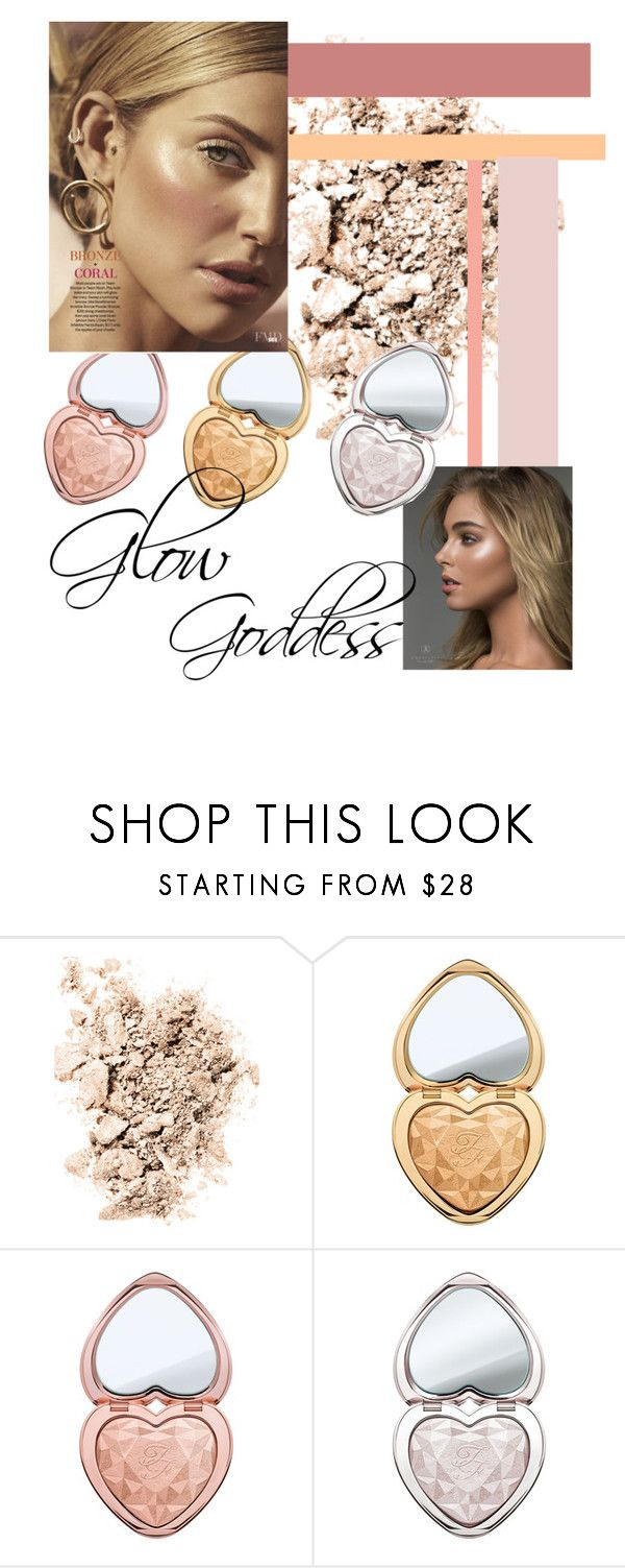 """""""Highlight glow"""" by rebeccapro ❤ liked on Polyvore featuring beauty, NARS Cosmetics and Too Faced Cosmetics"""