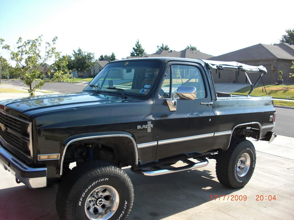 K5 Blazer Soft Top Chaser0517 1984 Chevrolet 12778463