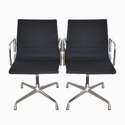 EA108 Schreibtischstühle Von Charles U0026 Ray Eames Für Herman Miller, 2e.