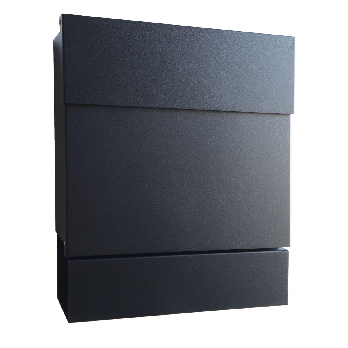 Letterman V Briefkasten radius briefkasten letterman v schwarz homesweethome