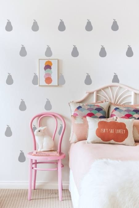mommo design: PEAR LOVE - Wall Decals