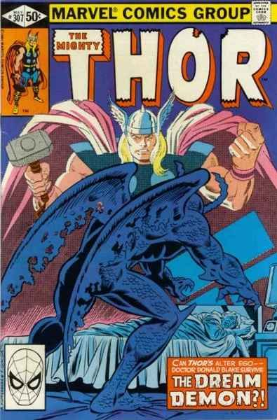 Mighty Thor # 307 by Alan Kupperberg & Frank Giacoia