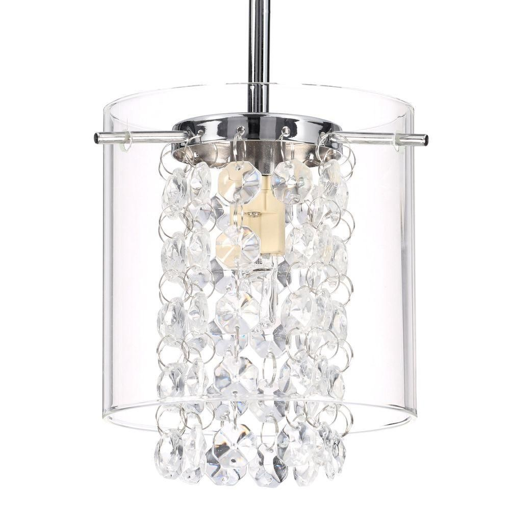 Bazz Glam Topaz Collection Beads Hanging Pendant Pr3811cb The Home Depot Hanging Pendants Pendant Hanging