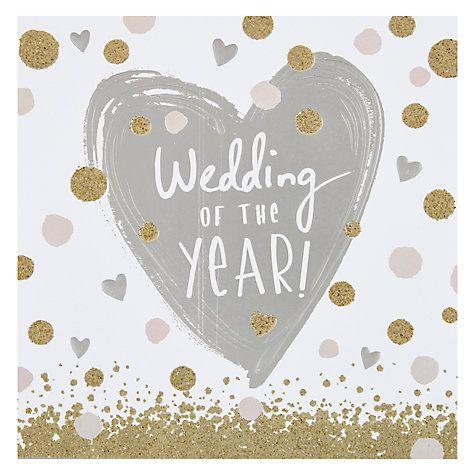 Hotchpotch Wedding Of The Year Card Wedding Anniversary Cards Wedding Of The Year Wedding Day Wishes