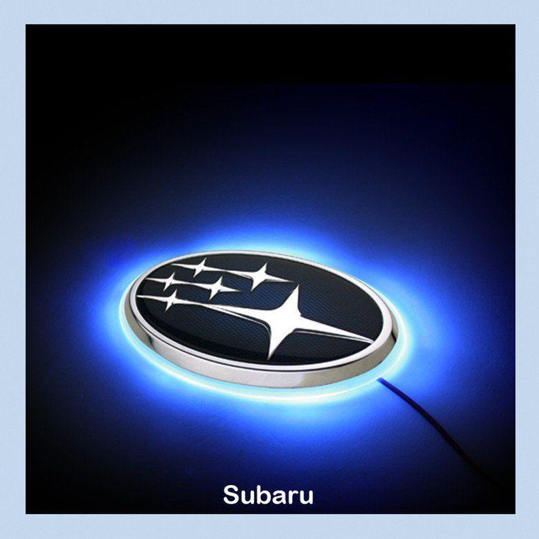 Subaru Legacy 10 Led Car Decal Logo Tail Light Badge Emblem Sticker